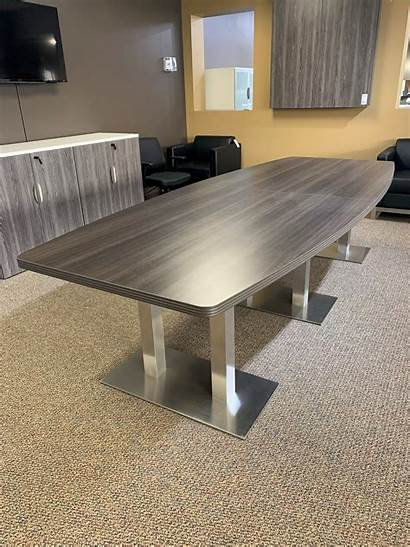 Conference Boat Shaped Office Tables Furniture Base