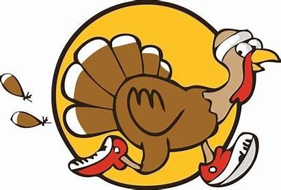 Turkey Trot Thanksgiving Clipart Race Fitness Registration