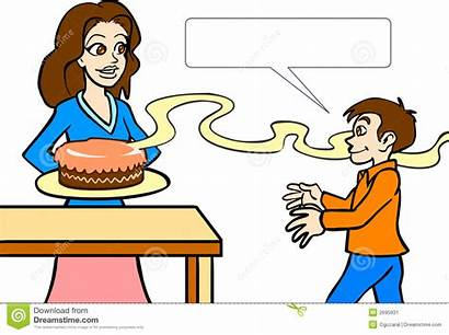 Smelling Clipart Cake Smell Delicious Cliparts Clip