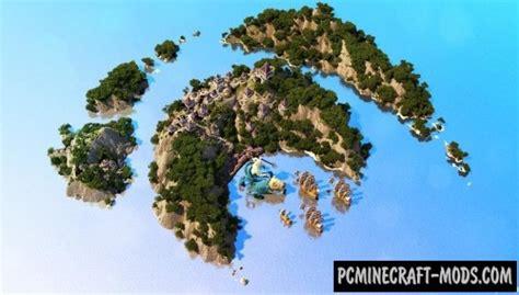 azul islands  art town map  minecraft   pc java mods