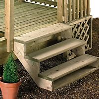 Step Deck R Kit by Decking Garden Diy At B Q