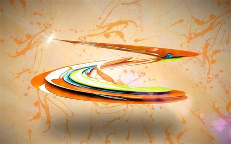 shiny colorful paint swirl  wallpaper