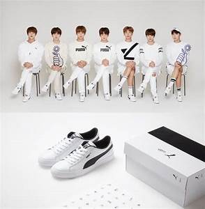 Puma x BTS Limited Edition Court Star Sneakers + Special Photo Card Bangtan Boys | eBay