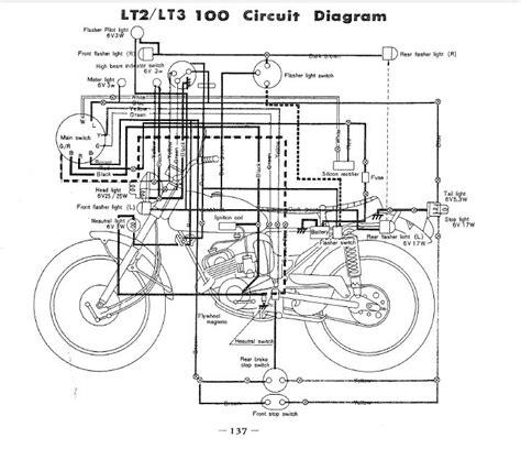 lt2 wiring diagram vintage enduro discussions