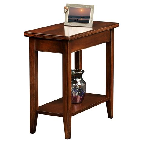 furniture organization rectangle chocolate cherry end tables for marvelous living room decor
