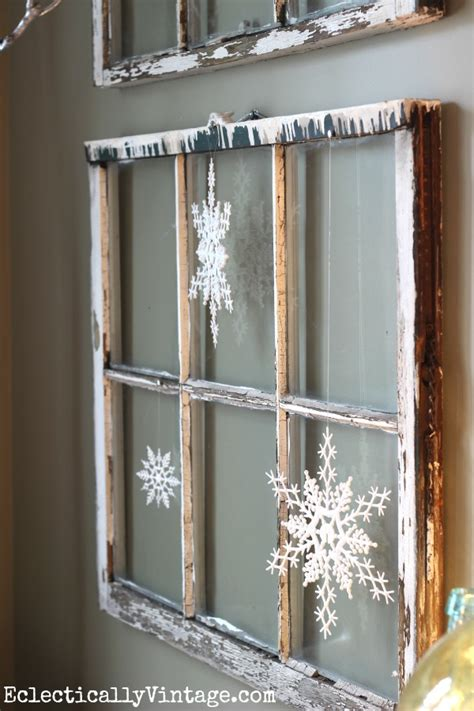 diy christmas window decorating ideas 20 awesome rustic decorations