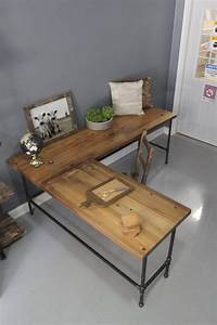 Easy-to-build large desk ideas for your home office! The