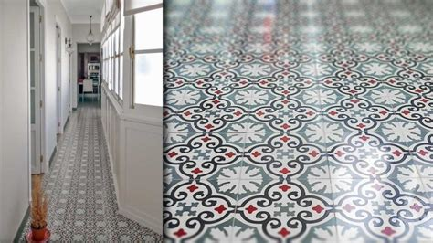 tapis de cuisine originaux carrelage original couloir et carreaux de ciment