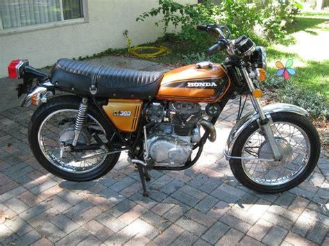 Buy 1975 Honda Cl360 Cl 360 Scrambler No Reserve On 2040-motos