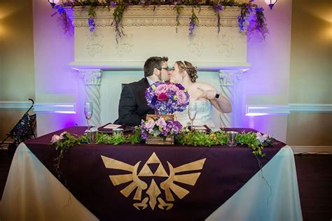 An Elegant Legend Of Zelda Gamer Wedding For Pixel Fiends