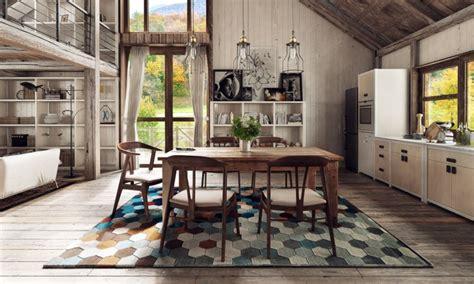 teppich für esszimmer 50 esszimmer teppich ideen welche form farbe w 228 hlen