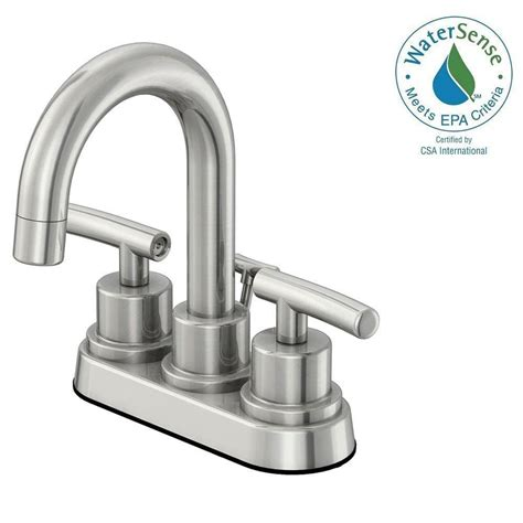 Glacier Bay Faucet Cartridge Assembly by Glacier Bay Dorset 4 In Centerset 2 Handle Bathroom