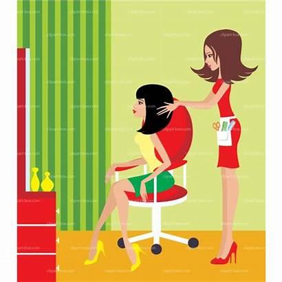 Salon Hair Clipart Beauty Hairdresser Clip Beautician