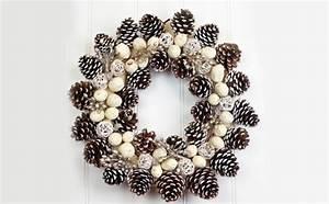 Weihnachtskranz Selber Basteln : basteln mit zapfen 55 tolle diy dekoideen zu weihnachten ~ Eleganceandgraceweddings.com Haus und Dekorationen