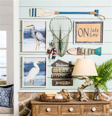channel summertime vibes  lake themed decor home