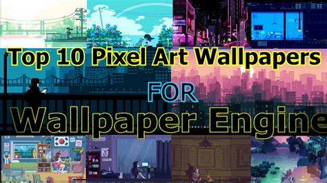 Animated Pixel Wallpaper - wallpaper engine pixel wallpapers