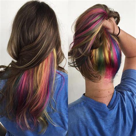 25 Vibrant Rainbow Hair Ideas — From Bright Rainbow Ombre