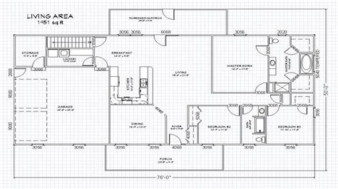 single story open floor plans ranch house floor plans basement open concept house designs