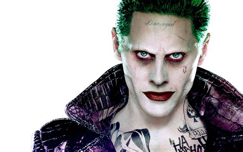 Jared Leto As The Joker Full Hd Wallpaper And Background