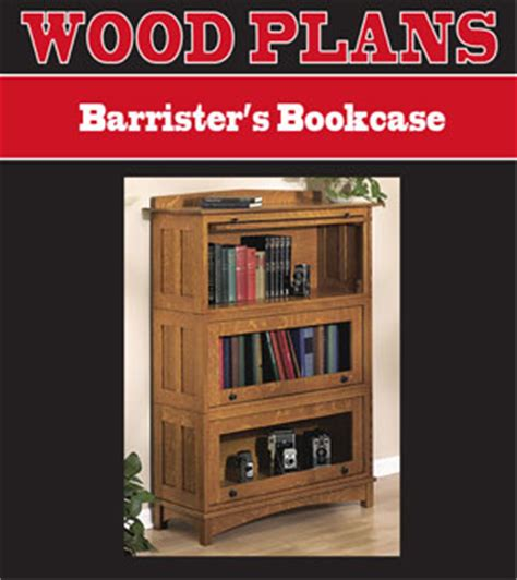 Lawyers Bookcase Plans - book shelf plans