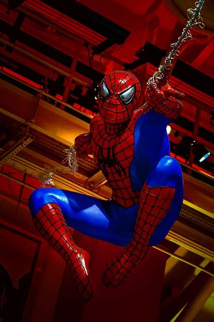 spiderman hero  photo  pixabay