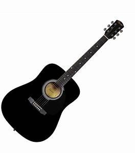 Buy Fender, Acoustic Guitar, Squier -Black SA105BK Online ...