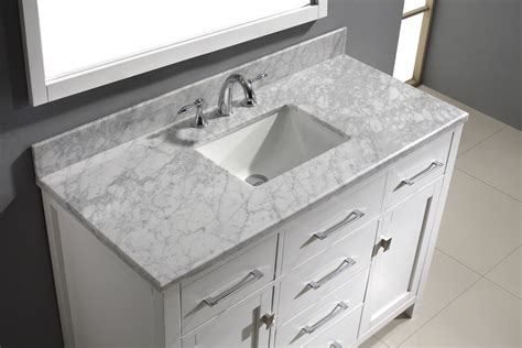 60 inch bathroom vanity top single sink 60 inch single vanity wyndham collection murano 48 inch