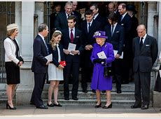 The Queen attends service of thanksgiving for Lord Snowdon