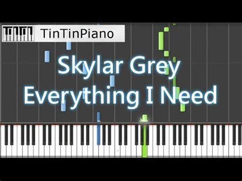 skylar grey    piano cover aquaman