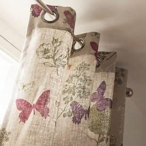 Rideau De Baignoire Leroy Merlin : rideau tamisant butterfly naturel x cm ~ Dailycaller-alerts.com Idées de Décoration