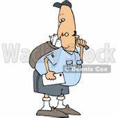 Mailman Clipart by Dennis Cox   Page #1 of Royalty-Free ...