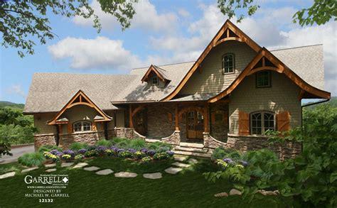 Hot Springs Cottage Gable House Plan # 12132 Garrell