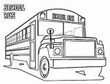 Bus Coloring Pages Truck Drawing Printable Buses Train Drawings Clipart Related Boys Clip Library Child Discover sketch template