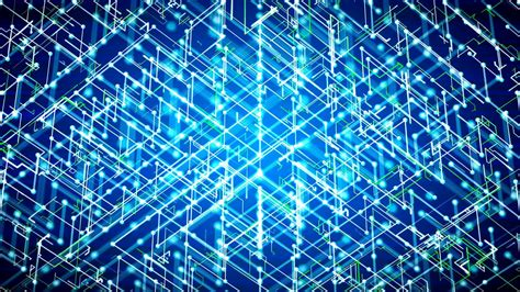 Cyber Background Futuristic Abstract Cyber Background Loopable Motion
