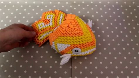 How Make Origami Koi Fish Part Youtube
