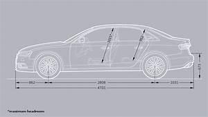 Dimension Audi A4 : dimensions audi france ~ Medecine-chirurgie-esthetiques.com Avis de Voitures