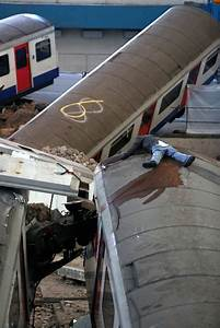 London tower block 'collapses into tube station' as part ...