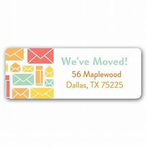 Letters melon return address labels paperstyle for Letter return address labels