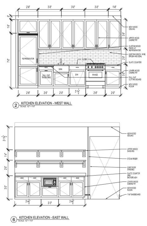galley kitchen dimensions 17 best images about drafting on outdoor 1157