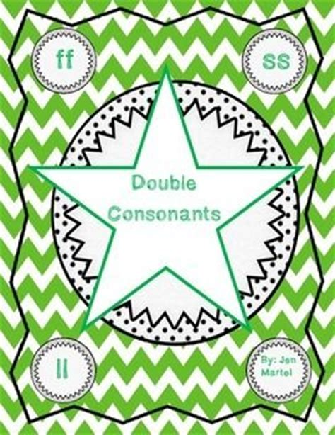 18 Best Images About Double Consonants On Pinterest  Word Study, Word Work And Grammar