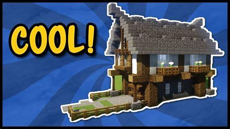 ⚠tutorial Kleines Mittelalter Haus In Minecraft  So Baut