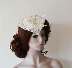 Wedding Accessory Wedding Head Piece Unique Bridal Cap