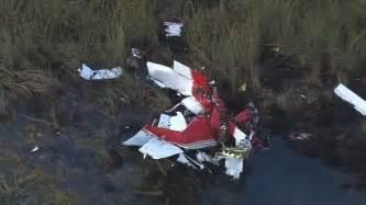 In the Florida Everglades Plane Crash