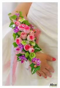 la manchette florale une idee de bouquet original With chambre bébé design avec bouquet de fleurs original