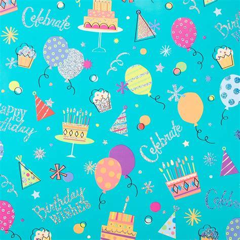 birthday wishes roll wrap