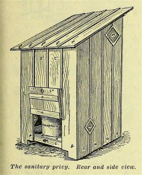 build  outhouse privy  plans