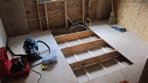 how to remove a of wood subfloor ask the builder