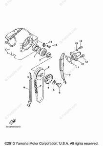 Yamaha Atv 2005 Oem Parts Diagram For Camshaft  U0026 Chain
