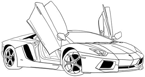 Top Car Coloring Pages Pinterest Top Car Coloring Pages