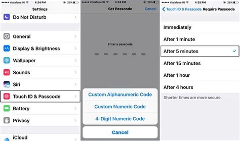change passcode on iphone turn on or change auto lock screen time on iphone 8 2418